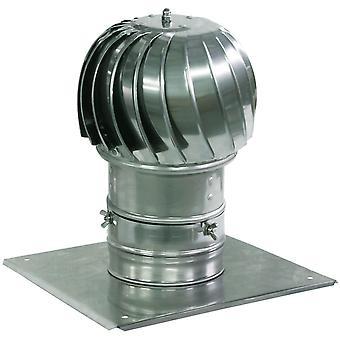 Filature cheminée cheminée aluminium descendant Ventilation Extraction 130 à 500mm