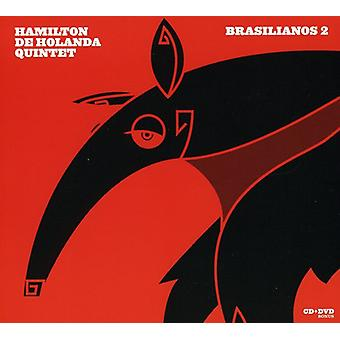 Hamilton De Holanda Quintet - Brasilianos 2 [CD] USA importeren