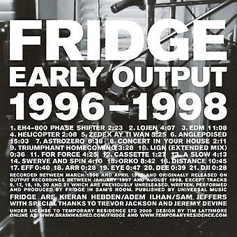 Frigo - importer des USA de 1996-1998 [CD] sortie précoce