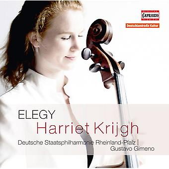 Bloch / Bruch / Massenet / Faure / Krijgh / Gimeno - Elegy [CD] USA import