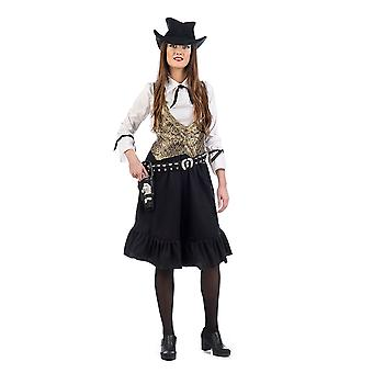 Costume de Mesdames Cowgirl Wild West gun de costume Lady Western Lady Ellen