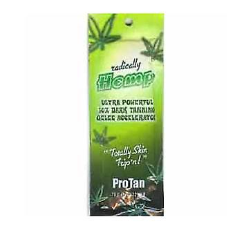Pro Tan Radically Hemp Ultra Powerful 10X Dark Tanning Gelee Accelerator