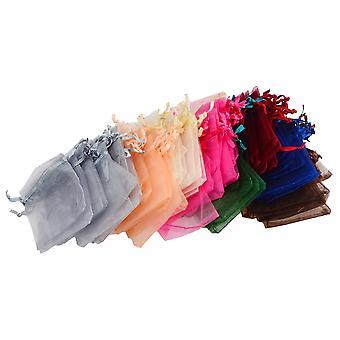108 piezas lazo Organza joyería bolsa bolsas Boolavard® TM
