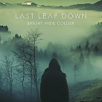 Last Leaf Down - Bright Wide Colder [CD] USA import
