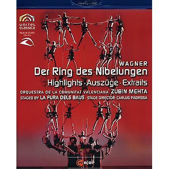 R. Wagner - Der Ring Des Nibelungen Highli [BLU-RAY] USA import