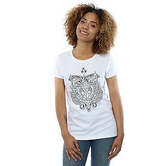 Harry Instituto Durmstrang Crest camiseta Potter Femenil