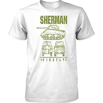 Sherman Firefly - britischen WW2 Battle Tank - Kinder T Shirt