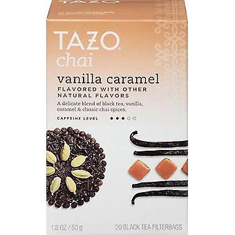 تشاي Tazo الشاي كراميل الفانيليا