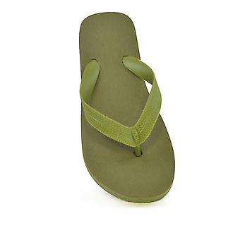 Childrens Unisex Basic Plain Flip Flop