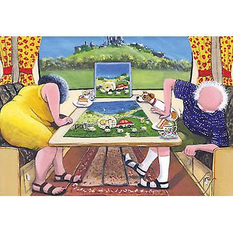 Gibsons The Missing piece Jigsaw Puzzle (500 pieces)