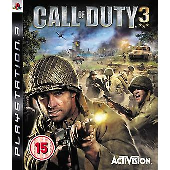 Call of Duty 3 (PS3) - Nouveau