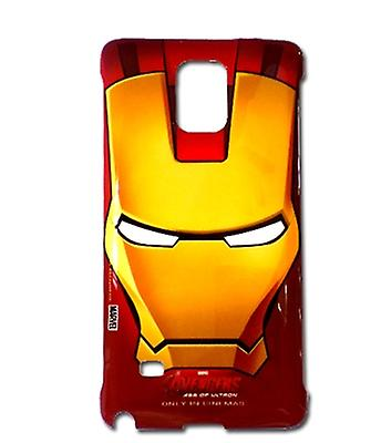 Original Samsung Marvel Avengers iron man hard case for Galaxy note 4