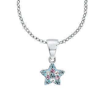 Princess Lillifee child kids necklace Silver Star crystals 2013183