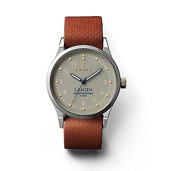 Triwa Unisex Watch wristwatch LAST113-MD010212 dawn Lansen leather
