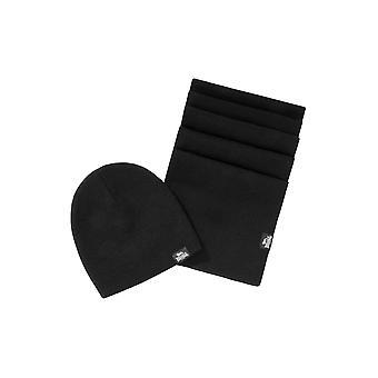 Lonsdale unisex Mütze- en sjaal Leafield instellen