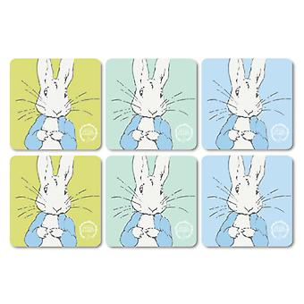 Stow Green Contemporary Peter Rabbit Set of 6 Coasters