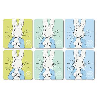 Stow Green contemporan Peter Rabbit set de 6 coastere