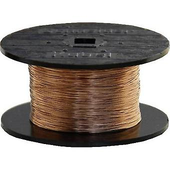 BELI-BECO Enamel-coated copper wire Outside diameter (incl. coating)=0.23 mm 100 m