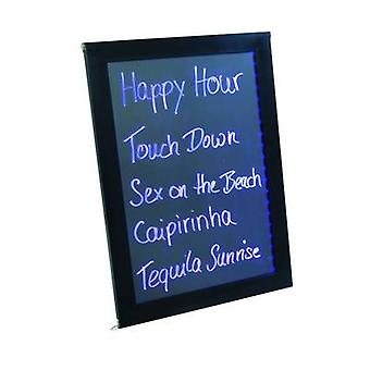 Europalms Happy Hour LED sign Red, Blue, Green (W x H x D) 720 x 65 x 465 mm