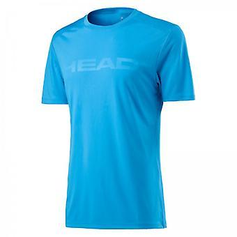 Visão de cabeça Corpo t-shirt mens luz azul 811377
