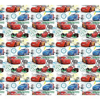 Cars 2 pair of curtains for the bedroom 180x160cm