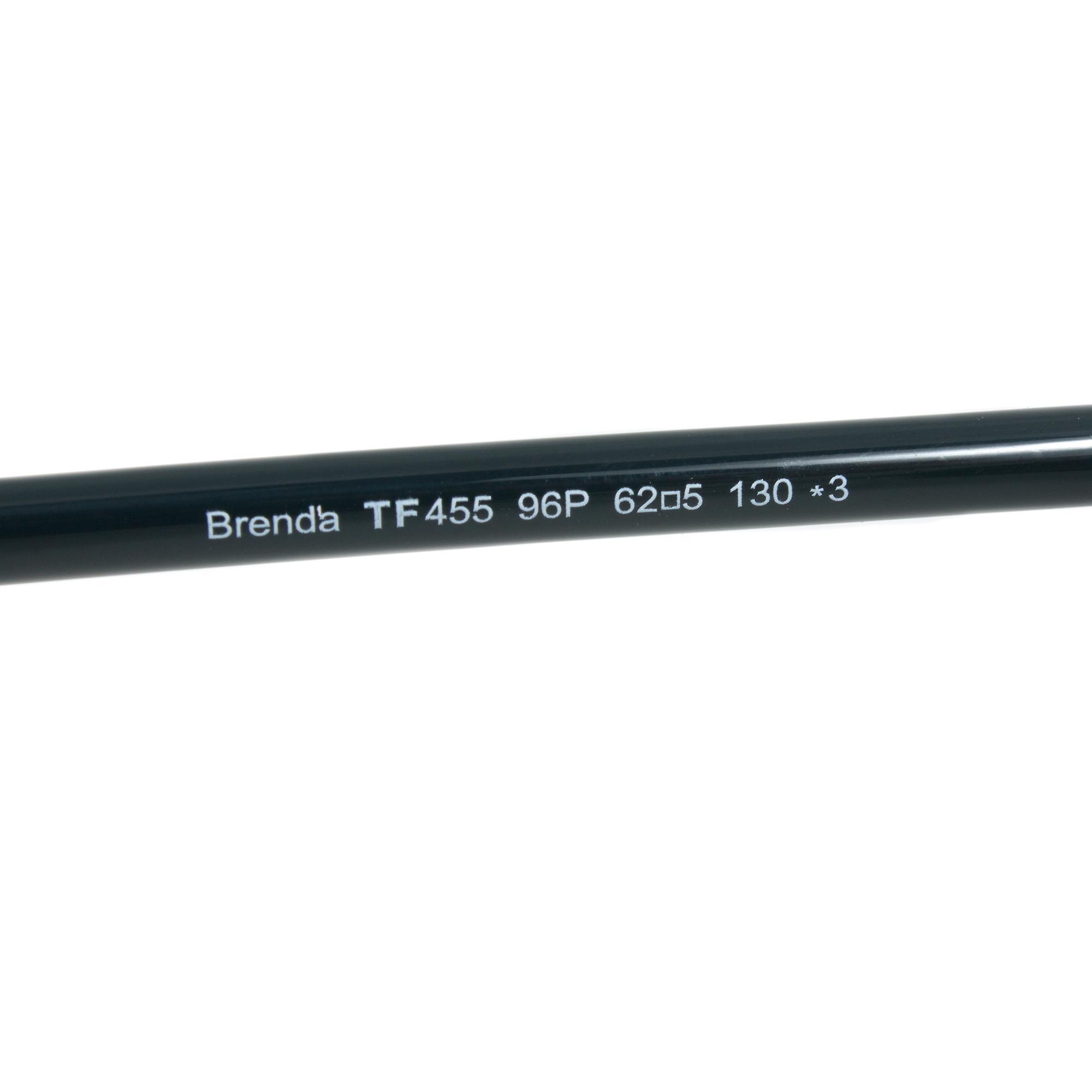 Tom Ford Brenda solbriller FT0455 96 P   Mørk grønn/Gunmetal ramme   Grå linsen
