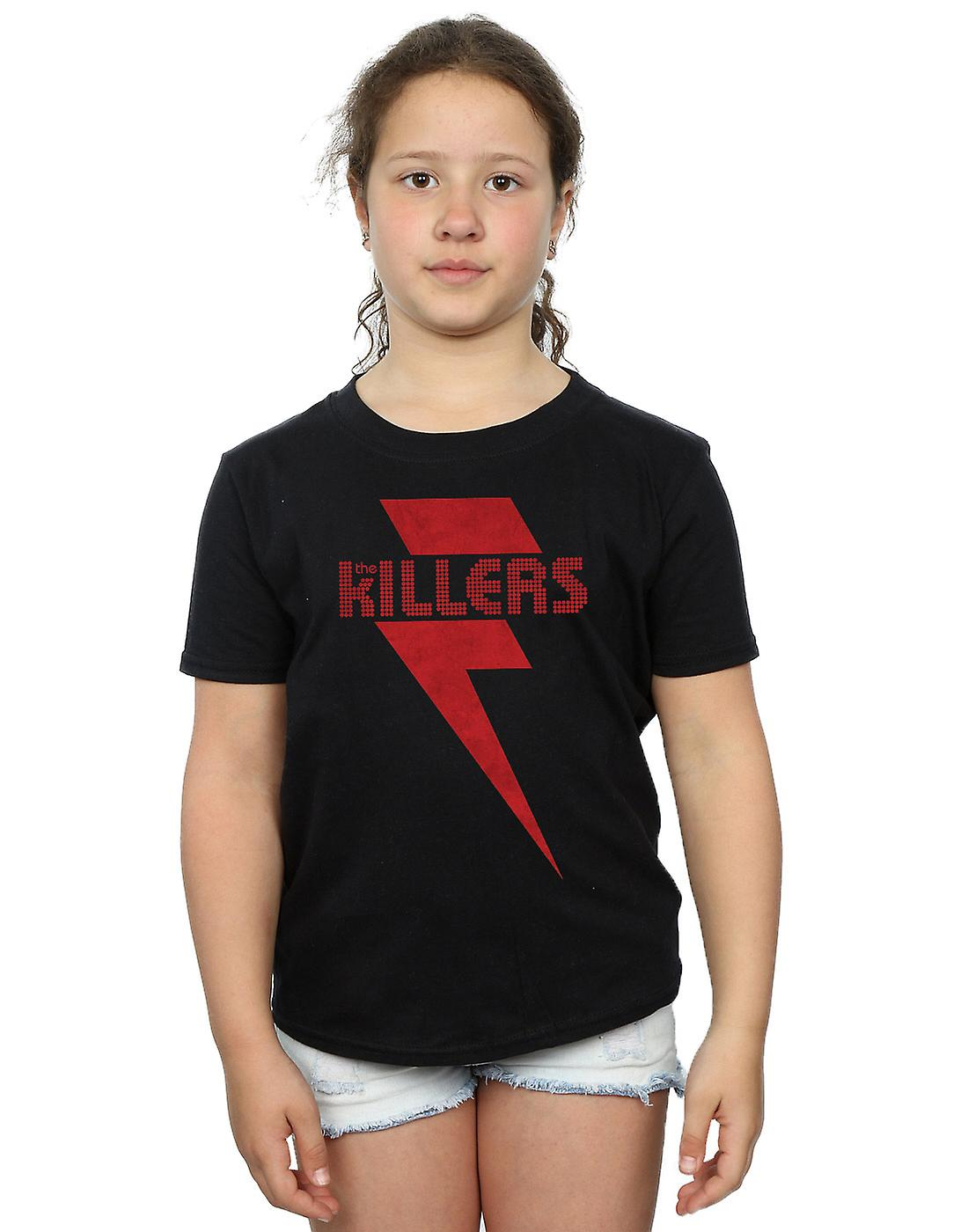 The Killers Girls Red Bolt T-Shirt