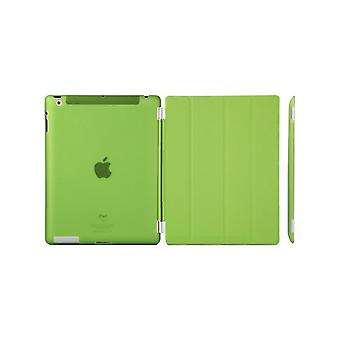 Case/Cover iPad (2017)/iPad Air + shell in hard plastic green