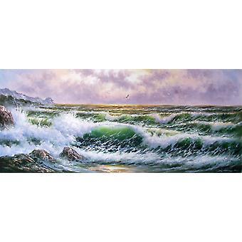 70x180 سم اللوحة الزيتية على قماش