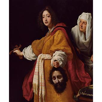 جوديث مع رئيس Holofernes، ALLORI كريستوفانو، 50x40cm