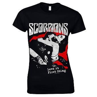 Scorpions-Love At First Sting T-Shirt, women