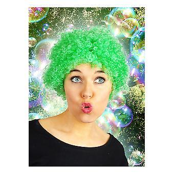 Parrucche breve parrucca verde