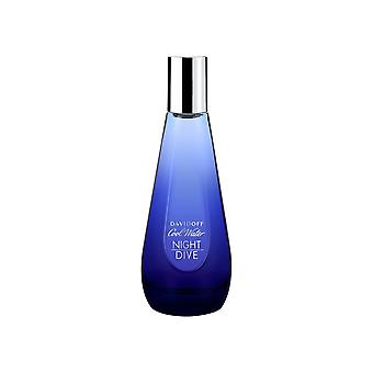 Davidoff Cool vatten natt dyk Woman Eau de Toilette Spray 30ml