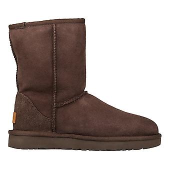 Chaussures de femmes UGG Classic Short II chocolat 1016223CHO hiver universel