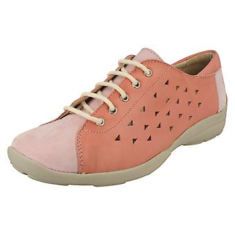 Ladies Easy B Casual Lace Up Shoes Arlene