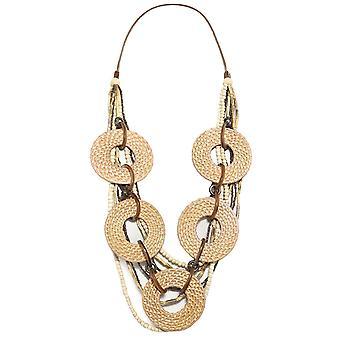 Zen Jewellery Circular Weave Necklace