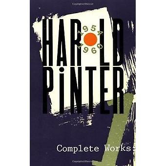 Färdiga arbeten av Harold Pinter - 9780802150967 bok