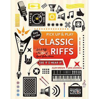 Klassiska riff - slickar & riff i stil med bra gitarr hjältar av J