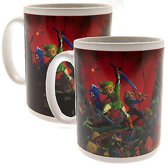 The Legend Of Zelda Official Heat Changing Mug
