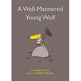 En Well-Mannered ung varg