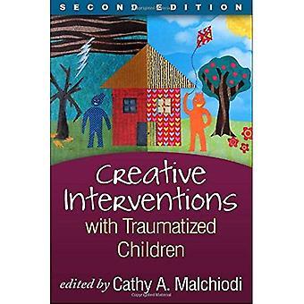 Creatieve interventies met getraumatiseerde kinderen (creatieve kunsten en speltherapie)