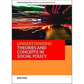 Verständnis-Theorien und Konzepte in der Sozialpolitik