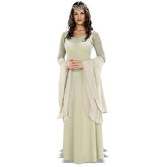 Koningin Arwen Lord van de ringen volwassen kostuum