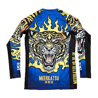 MEERKATSU Fire Tiger Rashguard