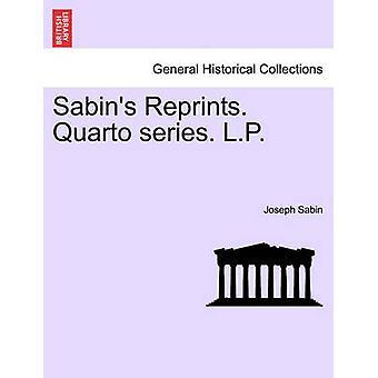 Sabins 再録四つ折りシリーズ。セービン & ジョゼフ L.P.
