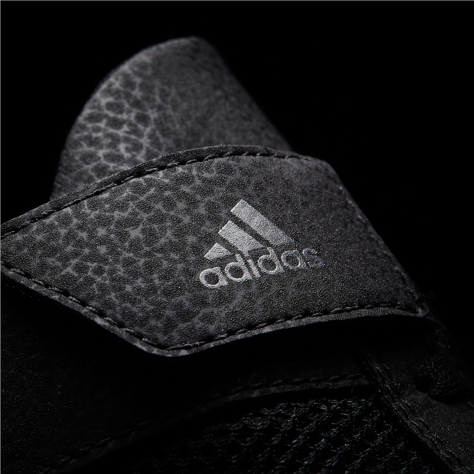 Adidas Havoc Mens Adult Wrestling Trainer chaussure botte noir/blanc