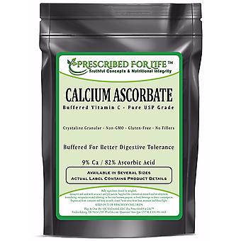 Calcium Ascorbate - Natural USP Buffered Vitamin C Crystalline Powder - 9% Ca / 82% Ascorbic Acid