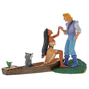 Disney fortryllende samling høre med hjertet Pocahontas figur