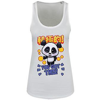 Handa Panda Ladies/Womens You Got This Floaty Tank
