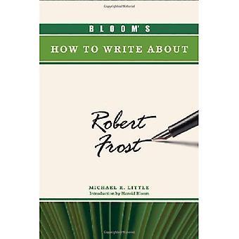 Bloom è come scrivere su Robert Frost